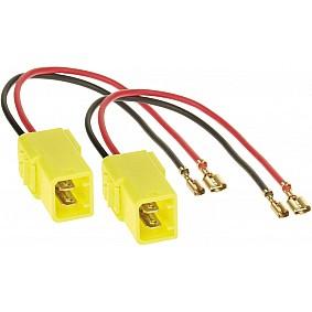 Speaker Adapter Kabel (2 x) Diverse modellen Alfa Romeo - Citroën - Fiat - Lancia - Peugeot