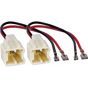 Speaker Adapter Kabel (2x) Dacia Dokker/ Lodgy/ Logan/ Sandero - Renault Captur