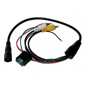 Camera-adapterkabel 4 Pins naar RCA.