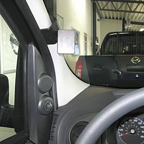 Houder - Brodit ProClip - Citroën Nemo - Fiat Fiorino/ Qubo - Peugeot Bipper 2008-> Left mount