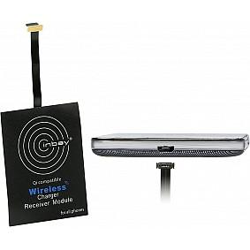 Inbay Inductie Qi universele ontvanger Micro USB onderlader