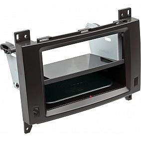 2-DIN Paneel Inbay® Mercedes Benz A-Klasse / B-Klasse Kleur: Zwart