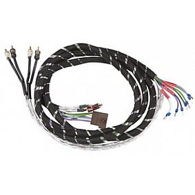 AUDIO SYSTEM 4-Kanaals HIGH-LOW-ADAPTER-Luidspreker kabel 5 meter