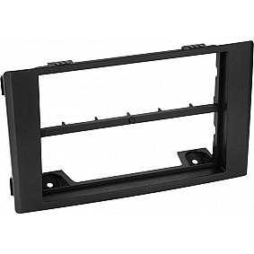 2-DIN Paneel met middel bar Iveco Daily 2007-2014 Kleur: Zwart