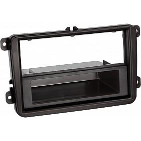 2-DIN Paneel Seat - Skoda - Volkswagen Kleur: Zwart