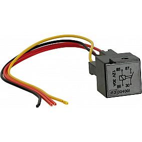 Standaard Schliesser Relais met sockel incl. kabel 12/24 V