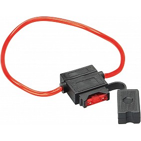 ANL zekeringhouder 10 A fuse/30 cm cable red