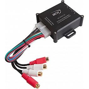High-Level Adapter 4 kanaals met remote
