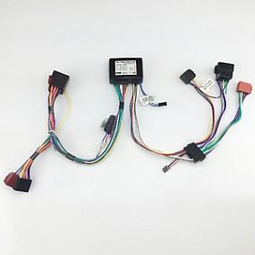 Mutebox Hifi Stereo met ISO voor auto's met versterker 4 kanaals