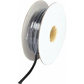 Gevlochten Kabelbescherming 5 - 12 mm Polyester Zwart Lengte 100 meter