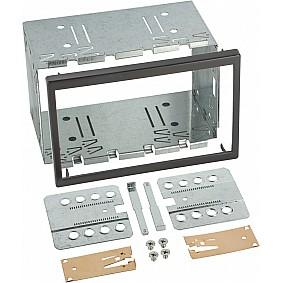 2-DIN frame ISO universeel / 113mm x 183mm