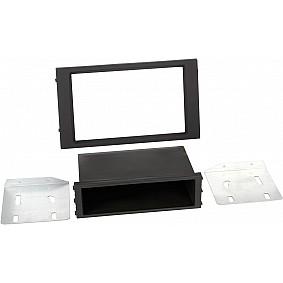 2-DIN Paneel Seat Leon - Ibiza - kleur: Zwart