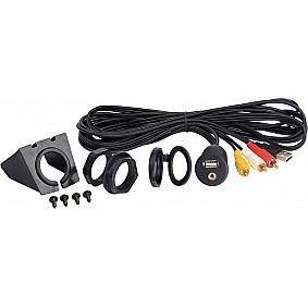 3.5 mm Aux + USB > Cinch / USB