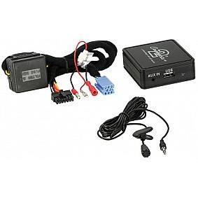 Bluetooth Adapter Diverse modellen Renault met ISO connector