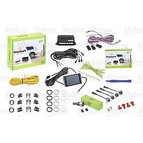 Valeo Beep & Park Kit 2 4 sensoren + 1 lcd-display Montage voor of achter-bumper