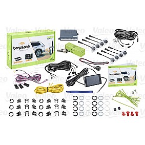 Valeo Beep & Park Kit 3 8 sensoren + 1 lcd-display Montage voor en achter-bumper