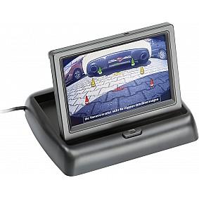 LCD klapmonitor 4.3