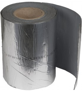 Alubutyl - Demping 10 m x 0,2 m dikte: 1,80 mm butyl: 1,75 mm alu: 0,05 mm gewicht per 1