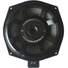 AUDIO SYSTEM 200mm Neodym-Subwoofer. Voor alle E- en F-modellen BMW