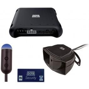 DEFA alarmsysteem DVS90R-MGBs klasse 2 MET autorisatie handzenders