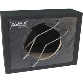 AUDIO SYSTEM Lege behuizing met CARBON-Front. Gesloten kist 22 liter voor 25 cm bas