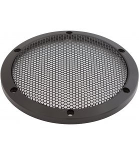 AUDIO SYSTEM Luidspreker Gril - CNC milled black anodized aluminium speaker grill
