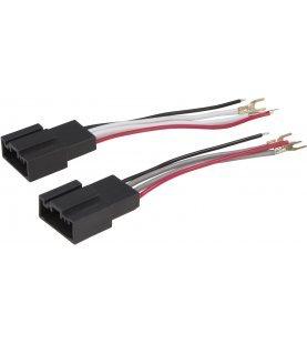 AUDIO SYSTEM HIGH-ADAPTER-KABEL voor BMW E + F-modellen (paar)