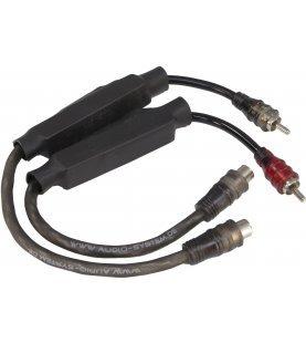 AUDIO SYSTEM High-Low-adapterkabel voor Volkswagen (Balanche Fader)