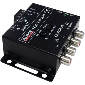 AUDIO SYSTEM High-Low Adapter HLC-4 PLUS voor OEM radio