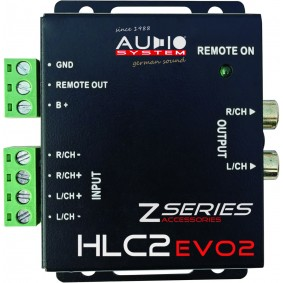 AUDIO SYSTEM High-Low Adapter HLC-2 VOOR OEM Radio (8-30 VOLT)