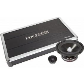 HX-Serie Full Active-Set bestaat uit: - 2x EX 165 PHASE EVO- 2x HS 30 PHASE - 1x HX 85.4