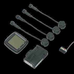 Waeco Parkeersensoren 4 sensoren met display