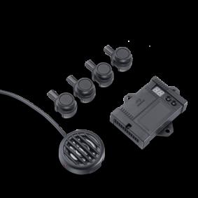Waeco Parkeersensoren OE 4 sensoren montage achter