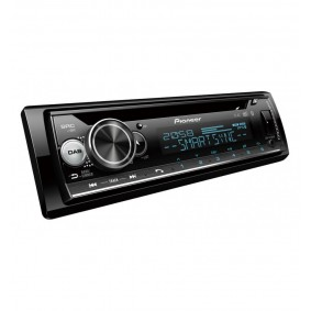 Pioneer DEH-S720DAB Autoradio enkel DIN DAB+ tuner, Bluetooth handsfree, AppRadio