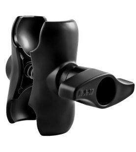 RAM korte lengte dubbele socket arm voor 2.25 inch bal