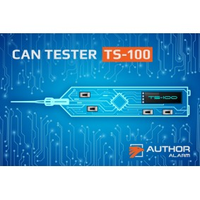 Author TS-100 CAN-Tester