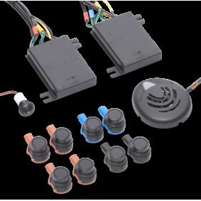 Waeco Parkeersensoren draadloos 8 sensoren montage voor + achter