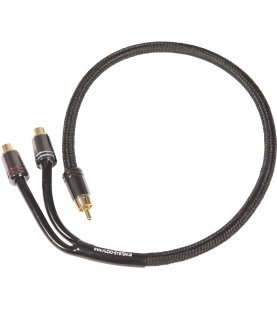 AUDIO SYSTEM HIGH-END 300 mm RCA kabel Y-RCA cable (1x connector M and 2x connector F)