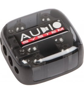 AUDIO SYSTEM HIGH-END 4-weg mini ANL-distributieblok