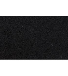 AUDIO SYSTEM Fleece mat zwart 2.5 mm High Quality mat zwart bekledingsstof 1.5x3m 4.5m2