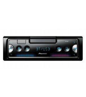 Pioneer SPH-10BT 1 DIN radio met Bluetooth, USB en Spotify