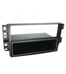 2-DIN Paneel Chevrolet Epica/ Aceo/ Captiva - Hummer H2 Kleur: Zwart