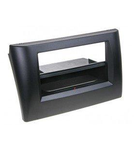 2-DIN Paneel Inbay® Fiat Stilo 2001-2008 Kleur: Zwart