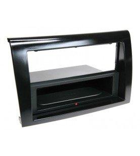 2-DIN Paneel Inbay® Fiat Bravo 2007-2014 Kleur: Piano Zwart