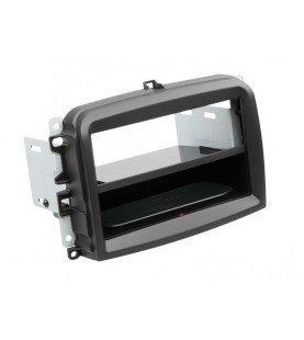 2-DIN Paneel Inbay® Fiat 500L 2012-2019 Kleur: Zwart
