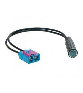 Antenne Adapter / Dubbel-Fakra > DIN (f) Audi/Seat/Skoda/VW