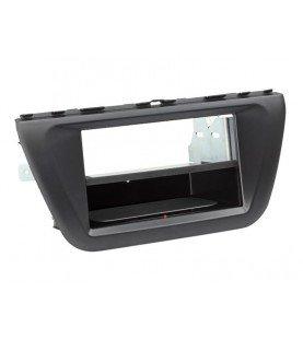 2-DIN Paneel Inbay® Suzuki SX-4 S-Cross 2013-2018 Kleur: Zwart