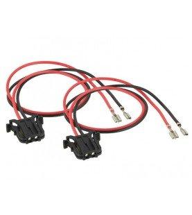 Speaker Adapter Kabel (2x) Mercedes Benz A-Klasse/ C-Klasse/ E-Klasse/ CLK-Klasse