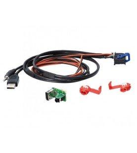 USB / AUX replacement Fiat - Aston Martin - lancia Diverse modellen en jaren behalve de Fiat 500L