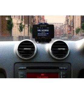 AUTODAB GO DAB receiver voor voertuigen met geintrigeerde display en bluetooth